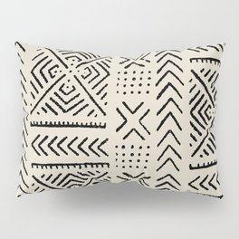 Line Mud Cloth // Bone Pillow Sham