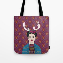 DEER FRIDA Tote Bag