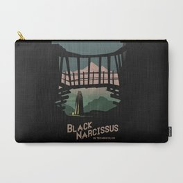 Black Narcissus Carry-All Pouch