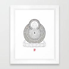 Prajanana Paramita - The Heart Sutra Framed Art Print