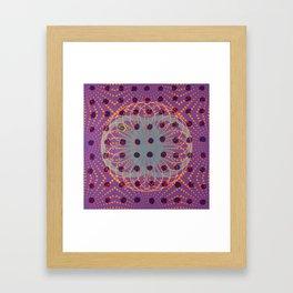 Dot - 3D graphic Framed Art Print