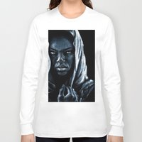 african Long Sleeve T-shirts featuring African by elenachukhriy