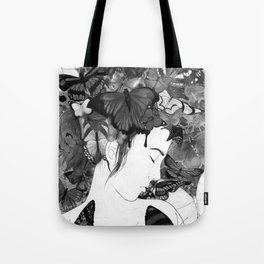 Beauty Within Despair Tote Bag