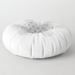 Infinity - The Sacred Geometry Collection Floor Pillow