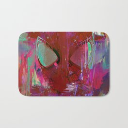 Spider Abstract Man Bath Mat