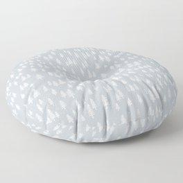 evergreen forest Floor Pillow