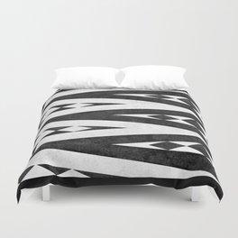Tribal pattern in black and white. Duvet Cover