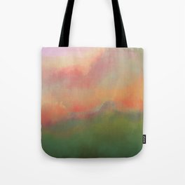Fiery Morning Tote Bag