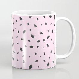 Bubble Pattern on Pink Coffee Mug