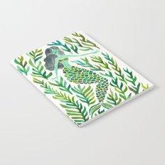 Kelp Forest Mermaid – Green Palette Notebook