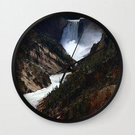 Grand Canyon of theYellowstone Wall Clock