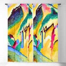 Wassily Kandinsky Autumn Landscape Blackout Curtain