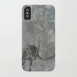 Half Tone Mammoth iPhone Case