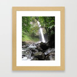 Hard Water Framed Art Print