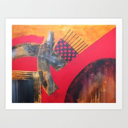 Painting 66 Art Print