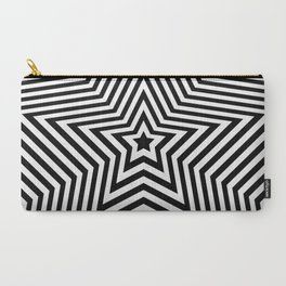 Stars - black & white vers. Carry-All Pouch