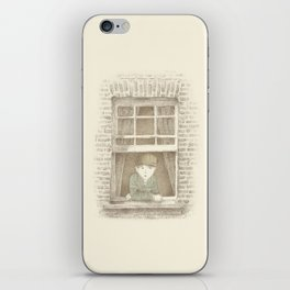 The Night Gardener - William iPhone Skin