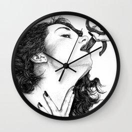 asc 710 - L'avaleuse de sabres (Inside I) Wall Clock