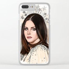 LDR Hedy Lamarr Clear iPhone Case