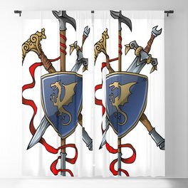 Coat of Arms Blackout Curtain
