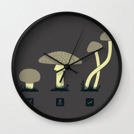 Select a mush Wall Clock