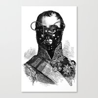 bdsm Canvas Prints featuring BDSM XXVII by DIVIDUS