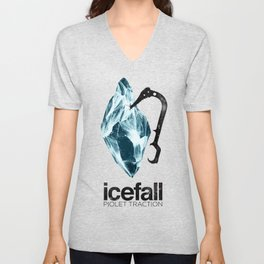 ICEFALL -PIOLET TRACTION- Unisex V-Neck