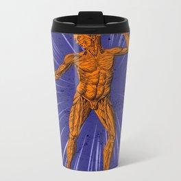 Anatomical Disco Metal Travel Mug
