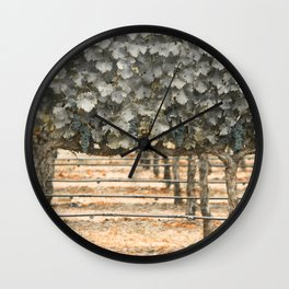Rustic Style Wall Clock