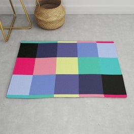 Lively Color Blocks Rug