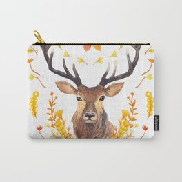 Autumn Deer Carry-All Pouch