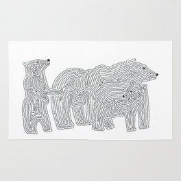 My Family of Bears Rug