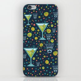 Martini Party iPhone Skin