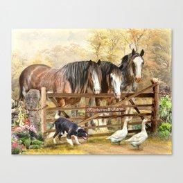 Featherwell Farm Canvas Print