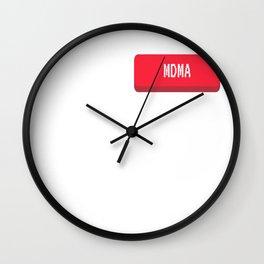 Insert MDMA - Funny Sesh Gremlin Wall Clock