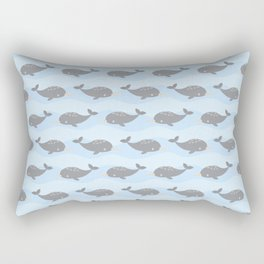 Cute narwhals Rectangular Pillow