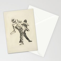 Tae Kwon Do Sparring Stationery Cards