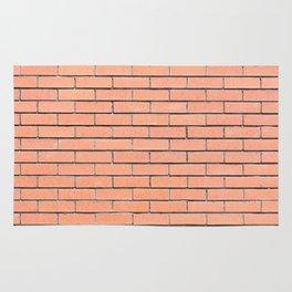 Brick wall pattern Rug