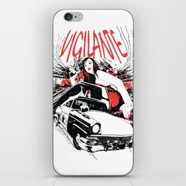 Vigilante iPhone Skin