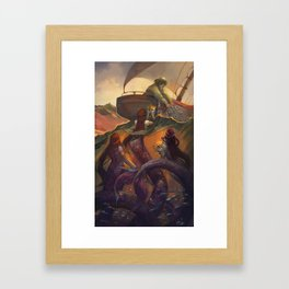 Treasure from the Deep  Framed Art Print