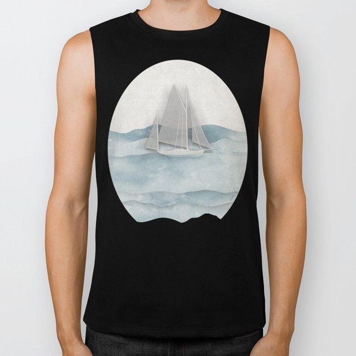 Floating Ship Biker Tank
