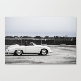 Porsche Speedster 356 Canvas Print