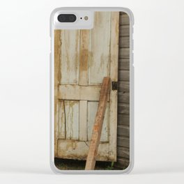 Blacksmith Shop Clear iPhone Case