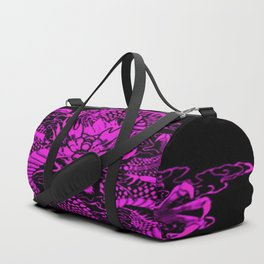 Epic Dragon Purple Duffle Bag