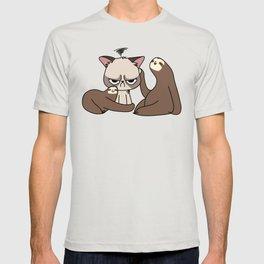 A Hug a Day Keeps the Grumpiness Away T-shirt