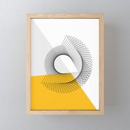 Abstract Minimal Line Framed Mini Art Print