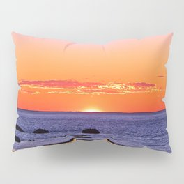 Stunning Seaside Sunset Pillow Sham
