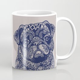 MANDALA OF PUG Coffee Mug