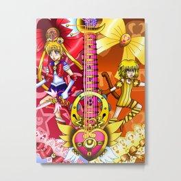 Sailor Mew Guitar #4 - Sailor Moon & Mew Pudding Metal Print