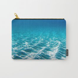 Aqua Blue Bliss Carry-All Pouch
